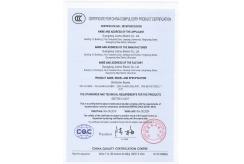 中国国家强制性产品认证证书(3C)-6